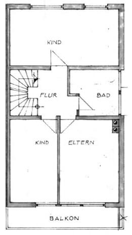 Große. familienfreundliche Doppelhaushälfte in Egmating - Obergeschoss