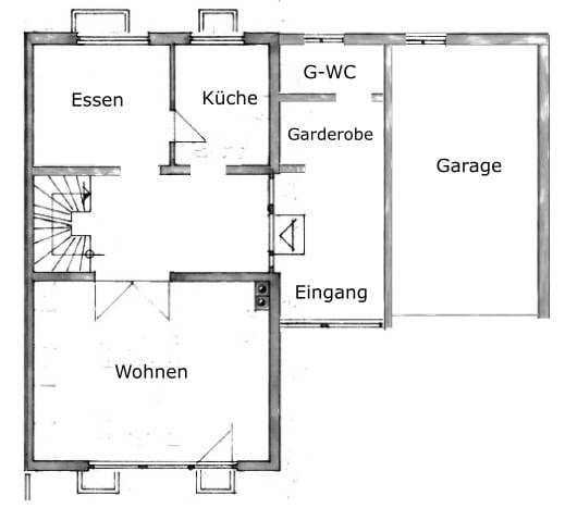 Große. familienfreundliche Doppelhaushälfte in Egmating - Erdgeschoss