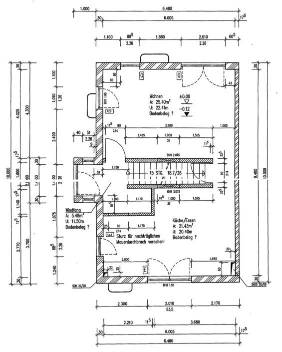 Neuwertige und außergewöhnliche Doppelhaushälfte in Ottobrunn - Grundriss EG