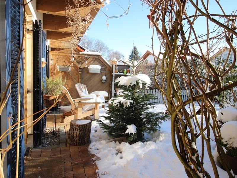 Familienfreundliche Doppelhaushälfte in Siegertsbrunn - Garten