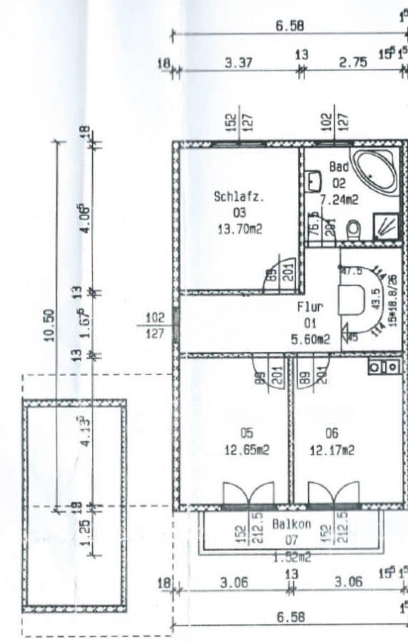 Familienfreundliche Doppelhaushälfte in Siegertsbrunn - Grundriss_OG