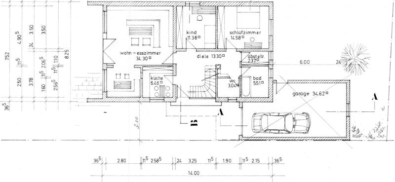 Mehrgenerationenfamilie aufgepasst: Einfamilienhaus und Doppelhaushälfte in Ottobrunn - efh_grundriss_eg