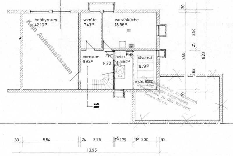 Mehrgenerationenfamilie aufgepasst: Einfamilienhaus und Doppelhaushälfte in Ottobrunn - efh_grundriss_ug