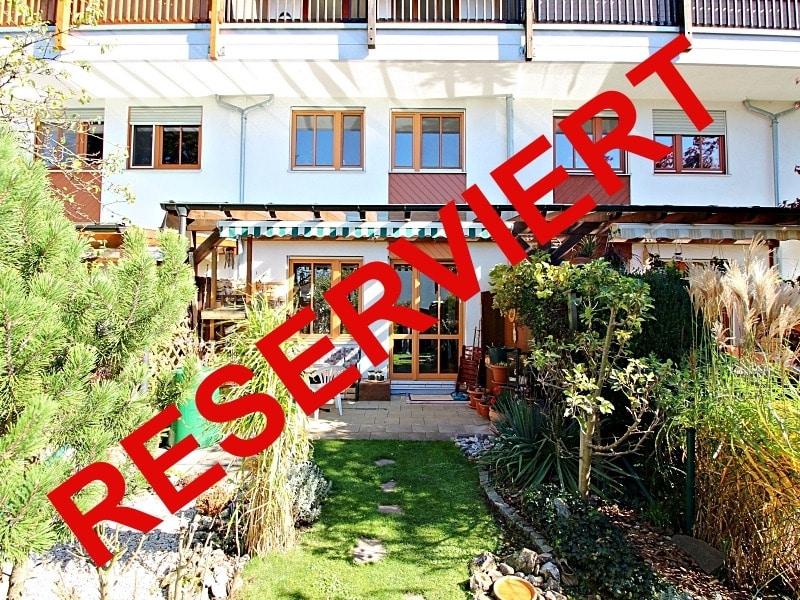 Wohnen wie in einem Haus: 3 Zimmer Gartenmaisonettewohnung mit super Ausstattung - Aussenansicht_reserviert