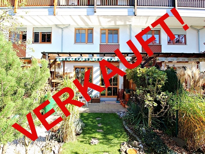 Wohnen wie in einem Haus: 3 Zimmer Gartenmaisonettewohnung mit super Ausstattung - Aussenansicht_verkauft