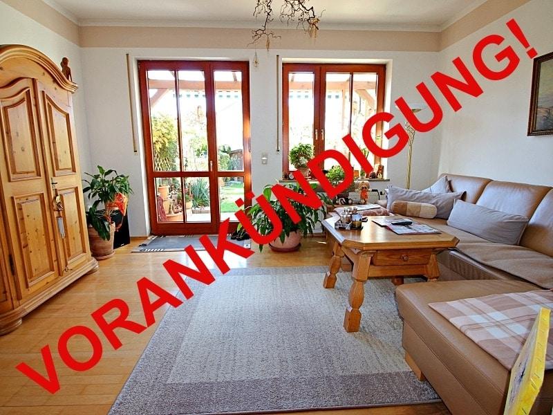 Wohnen wie in einem Haus: 3 Zimmer Gartenmaisonettewohnung mit super Ausstattung - Wohnzimmer_vorankündigung