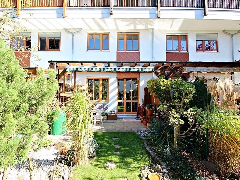 Wohnen wie in einem Haus: 3 Zimmer Gartenmaisonettewohnung mit super Ausstattung - Aussenansicht