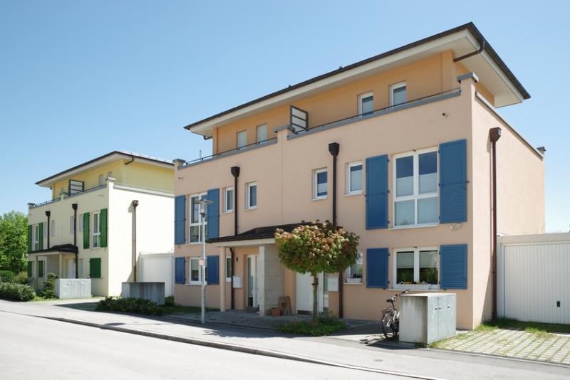 Baugrundstück für Mehrfamilienhaus mit Tiefgarage in ruhiger Lage von Höhenkirchen - Aussenansicht_Illustration