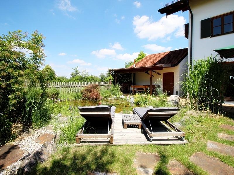 Attraktive, neuwertige DHH mit Top Ausstattung in ruhiger Lage von Höhenkirchen - Garten