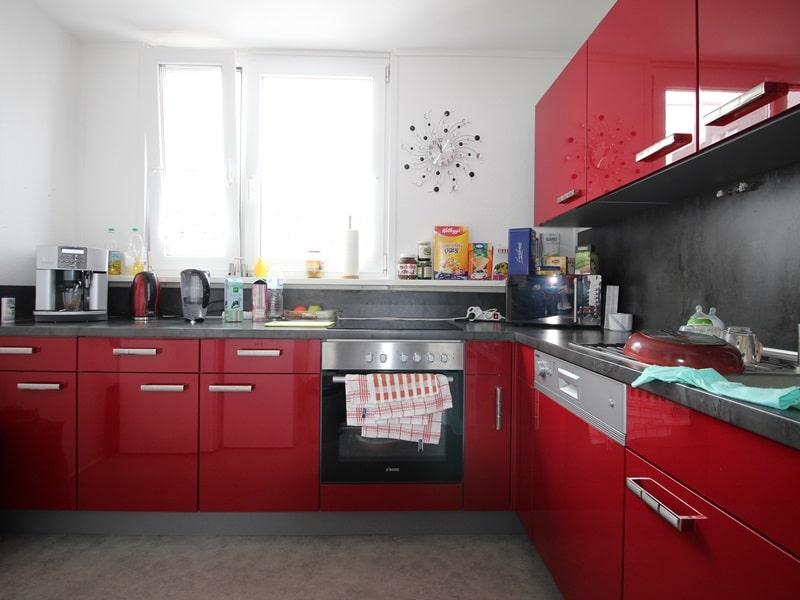 Vermietete, attraktive 3 Zimmerwohnung mit Südbalkon in ruhiger Lage von Ottobrunn - Küche