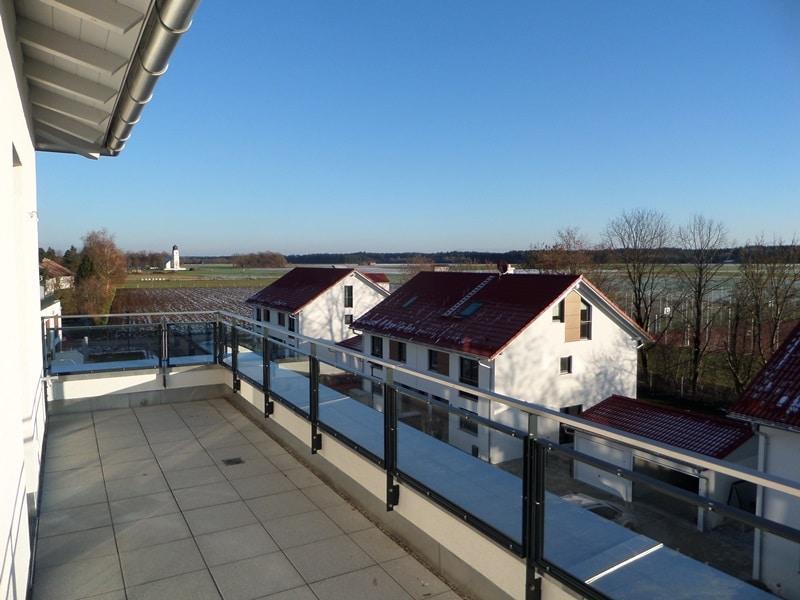 Perfekte 3 Zimmer-Dachterrassenwohnung in Höhenkirchen-Siegertsbrunn - Ausblick