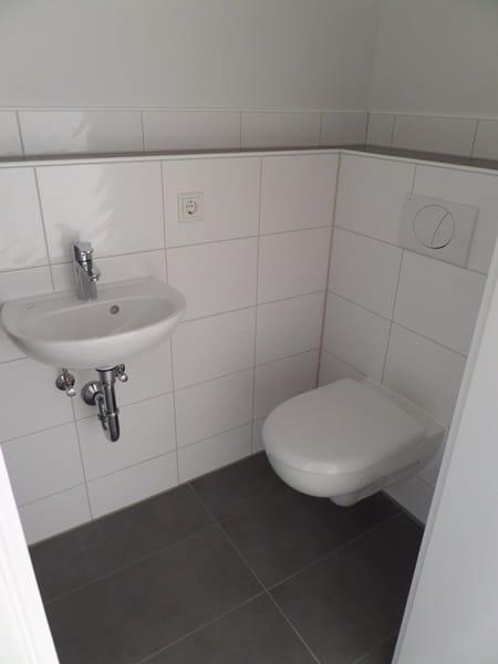 Perfekte 3 Zimmer-Dachterrassenwohnung in Höhenkirchen-Siegertsbrunn - WC