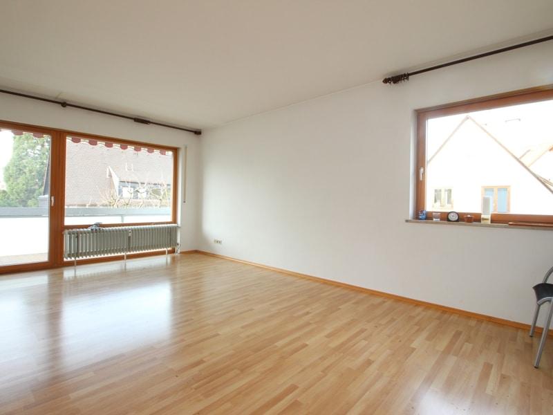 Ruhige, helle 2,5 Zimmerwohnung mit Südwest-Balkon in zentraler Lage von München / Ramersdorf - Wohnzimmer