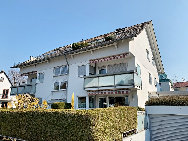 Ruhige, helle 2,5 Zimmerwohnung mit Südwest-Balkon in zentraler Lage von München / Ramersdorf - Außenansicht