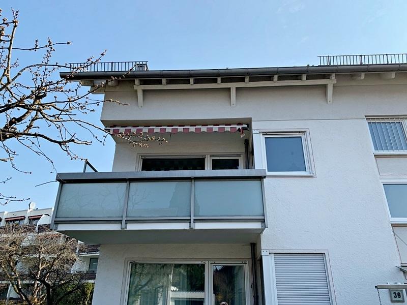 Ruhige, helle 2,5 Zimmerwohnung mit Südwest-Balkon in zentraler Lage von München / Ramersdorf - Außenansicht_2