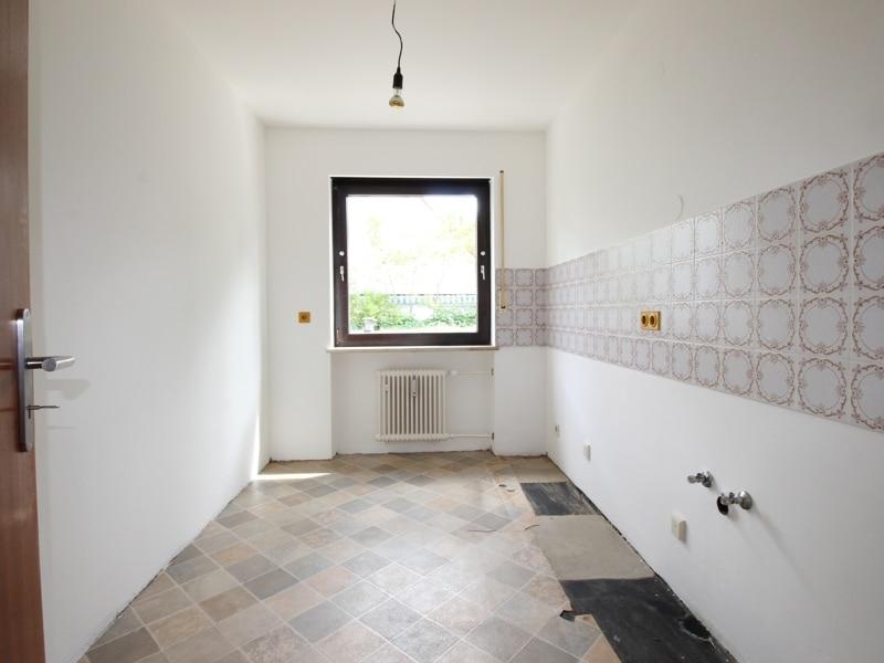 Großzügige 2 Zimmerwohnung mit kleinem Garten in Laim - Küche