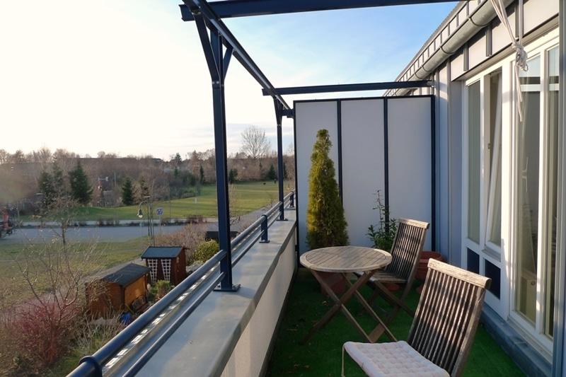 Gemütliche 3 Zimmer Dachgeschosswohnung in Neubiberg - Terrasse