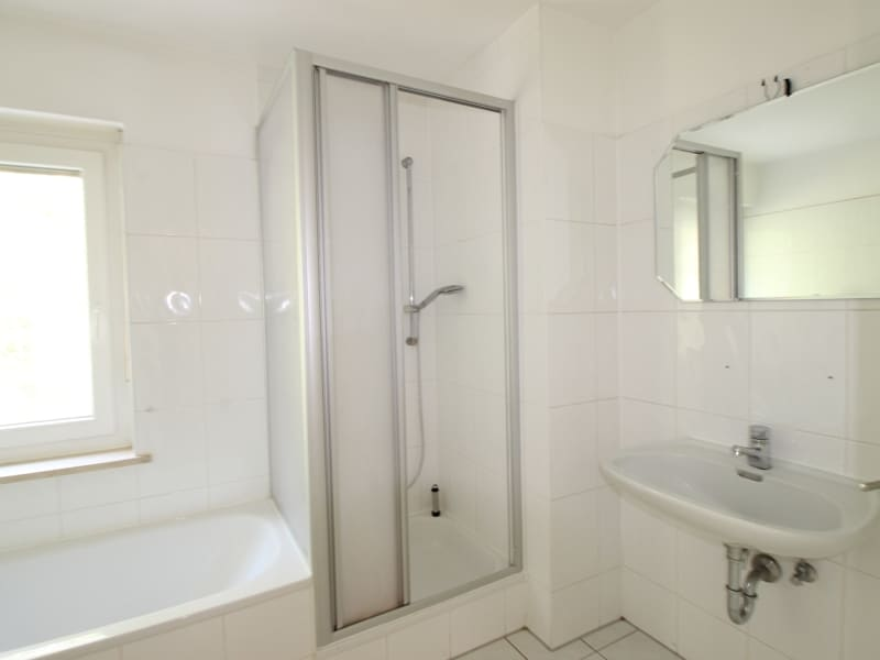 Großzügiges Reiheneckhaus in ruhiger heller Waldrandlage in Zorneding/Pöring - Tageslichtbadezimmer