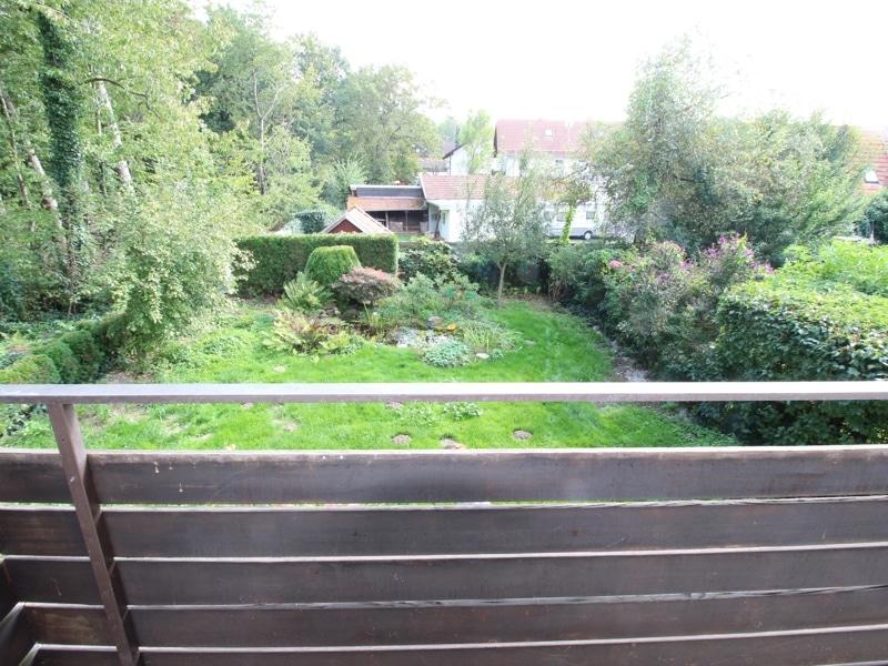 Großzügiges Reiheneckhaus in ruhiger heller Waldrandlage in Zorneding/Pöring - Aussicht Balkon