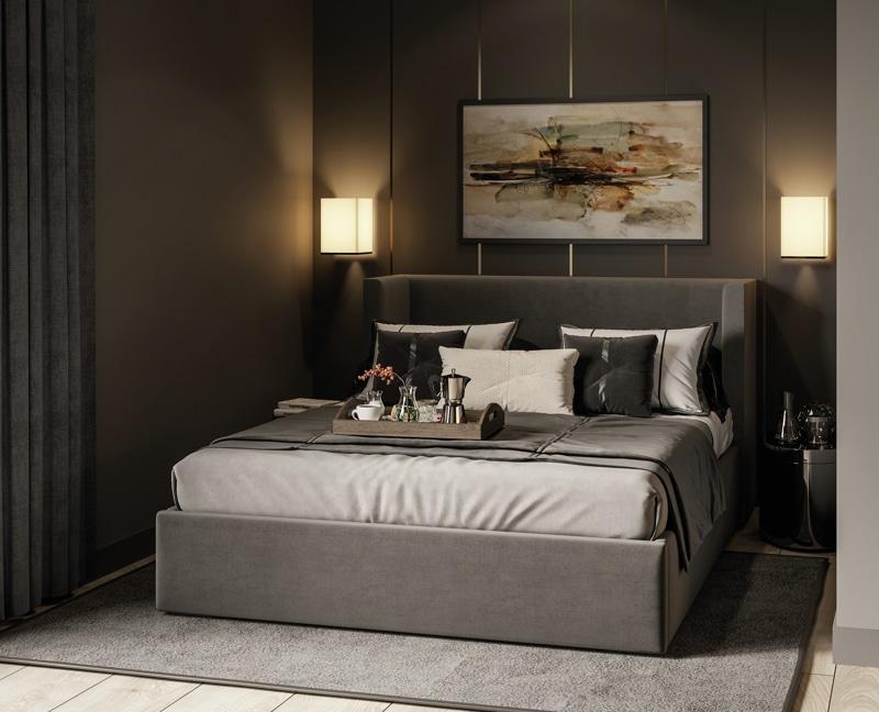 Neubau - Moderne voll möbilierte 2 Zimmerwohnung für Kapitalanleger - Design_Bett