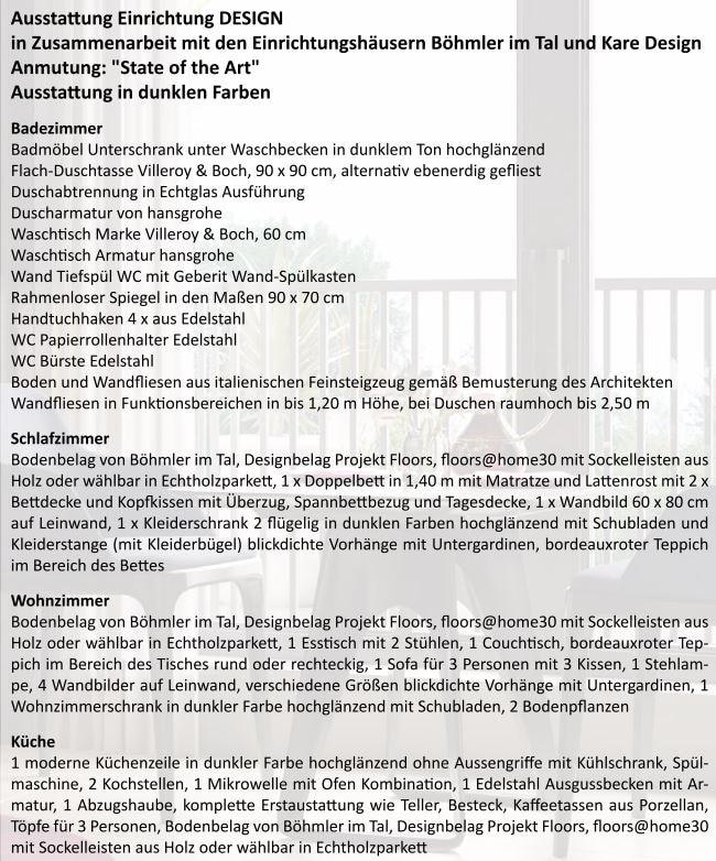 Neubau - Moderne voll möbilierte 2 Zimmerwohnung für Kapitalanleger - Ausstattung_Einrichtung_design