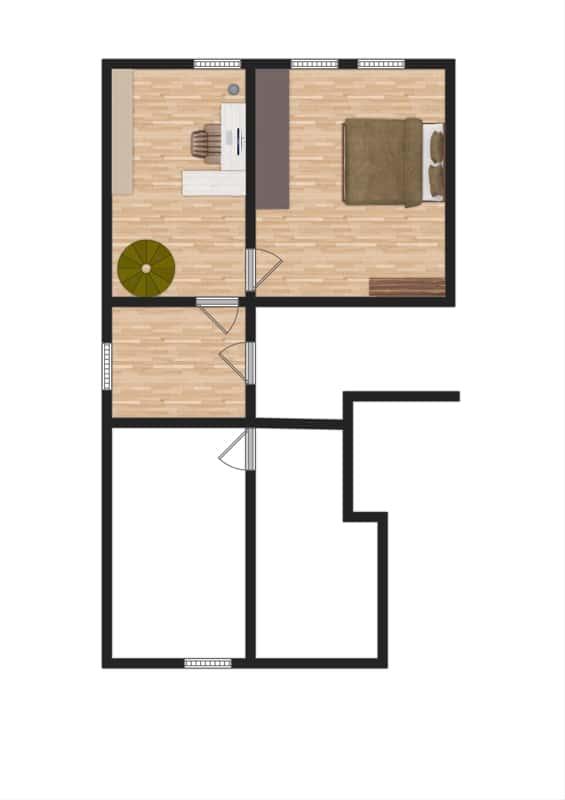 Großzügige 4 Zimmer Erdgeschosswohnung mit zusätzlich 2 Hobbyräumen in Grasbrunn / Neukeferloh - Grundriss UG