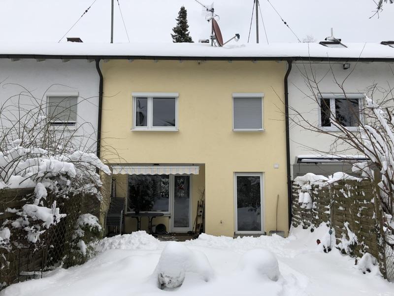 Modernisiertes Reihenmittelhaus in Riemerling mit günstigem Erbbauzins - Aussenbild3