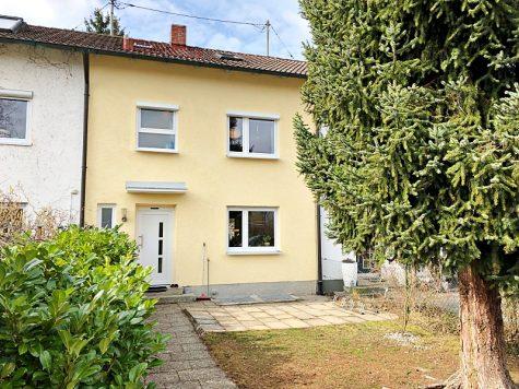 Modernisiertes Reihenmittelhaus in Riemerling mit günstigem Erbbauzins, 85521 Hohenbrunn / Riemerling, Reihenhaus