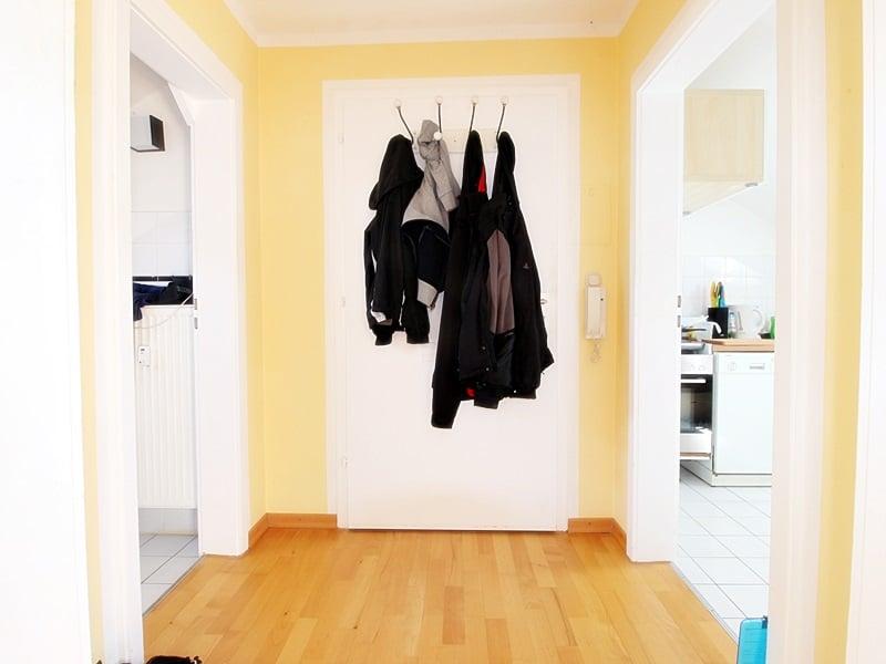 Für Kapitalanleger - Vermietete 1 ZKB Dachgeschosswohnung in ruhiger Lage von Höhenkirchen - Diele