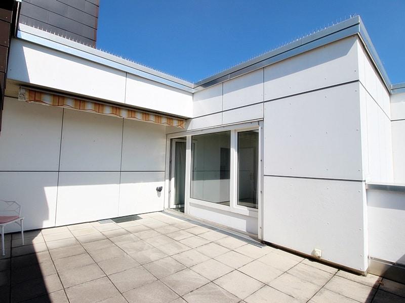 Traumhafter Panoramablick: XXL 2,5ZKB Dachterrassen Wohnung für Singles / Paare in ruhiger Lage von Ottobrunn - Dachterrasse_
