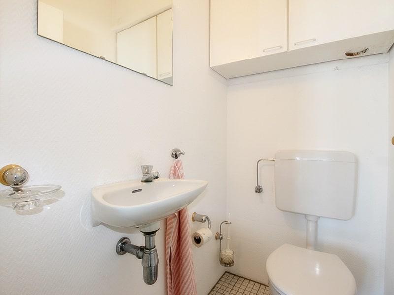 Traumhafter Panoramablick: XXL 2,5ZKB Dachterrassen Wohnung für Singles / Paare in ruhiger Lage von Ottobrunn - Toilette