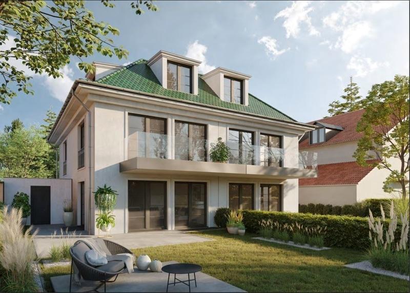 Villenhälfte in klassischer Architektur in bevorzugter Lage in München-Trudering - Visualisierung 2