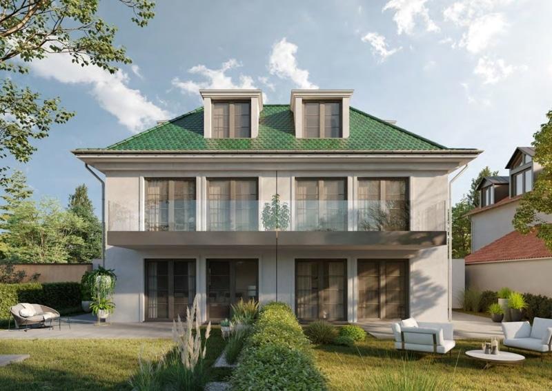 Villenhälfte in klassischer Architektur in bevorzugter Lage in München-Trudering - Visualisierung 3