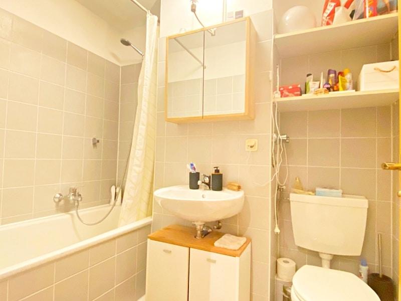 Gemütliches 1 ZKB Apartment mit kleinem Garten in zentraler Lage von Unterhaching - Badezimmer