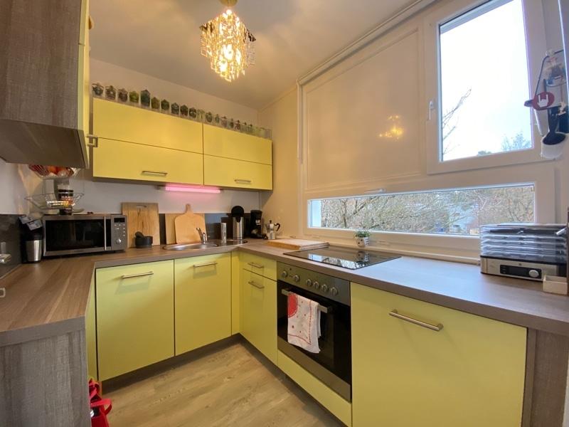 Attraktive, gepflegte 1 Zimmerwohnung mit Balkon in ruhiger Waldrandlage von Ottobrunn - Küche