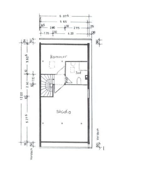 Gepflegtes, renovierungsbedürftiges Reiheneckhaus in ruhiger, familienfreundlicher Lage von Siegertsbrunn - Grundriss DG