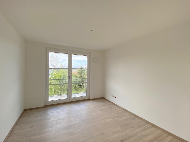 Erstbezug: Nach Westen ausgerichtete ruhige 4 Zimmerwohnung mit 2 Bädern und großem Balkon - Arbeitszimmer