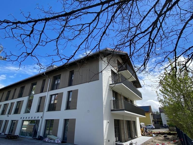 Erstbezug: Nach Westen ausgerichtete ruhige 4 Zimmerwohnung mit 2 Bädern und großem Balkon - Außenansicht
