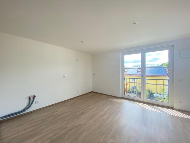 Erstbezug: Nach Westen ausgerichtete ruhige 4 Zimmerwohnung mit 2 Bädern und großem Balkon in der Ortsmitte von Höhenkirchen - Küchenbereich